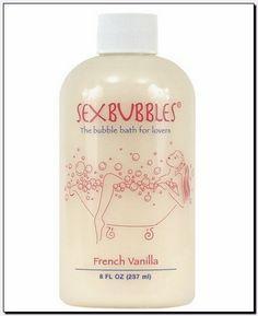 French Vanilla SEX BUBBLES Bubble Bath 8 oz NEW ˚✰˚ ˛★* 。For Lover's ˚✰˚ ˛★* 。