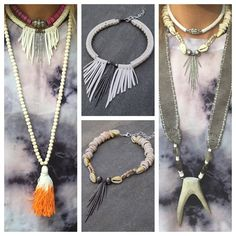 ♡Love our spring pieces layered with @twineandtwigstyle and @bohobeads ♡ #scarterdesigns #layeredlook #necklaces #pukashells #shellnecklace #cowrieshells #africaninspired #africanjewelry #boho #bohochic #bohemia #instyle #instafashion #festivalseason #obsessed #jewelry #pavediamonds #roughcutdiamonds #bohobeads #twineandtwig #springstyle #summerstyle