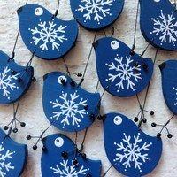 Prodané zboží uživatele AMA | Fler.cz Winter Christmas, Christmas Time, Christmas Crafts, Christmas Decorations, Christmas Ornaments, Holiday, Clay Crafts, Diy And Crafts, Arts And Crafts