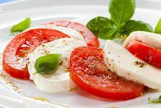 Caprese - Mozzarella auf Tomaten (Variante 1) - Rezept von Pastaweb