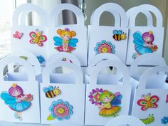 15 Fairy garden themed party favour boxes  by SparkleandComfort, $18.00