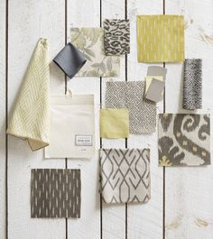 Lacefield Lemongrass Textiles #textiledesigner #yellow #interiors #ikat www.lacefielddesigns.com