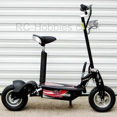 Electric_Scooter_1000W_Right_Lights
