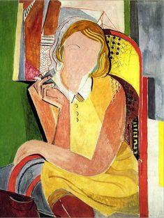 Inge III mit Zigarette und Rohrstuhl, um 1930, Kunstforum Ostdeutsche Galerie, Regensburg