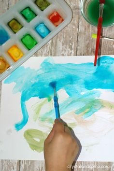 Homemade Watercolors for Kids