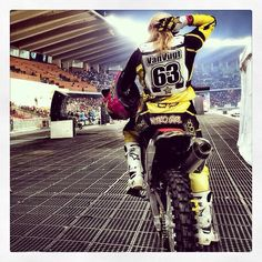 Rockstar energy drink:fox racing nitro circus Jolene Van vught