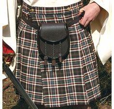 Scottish Mans Kilt