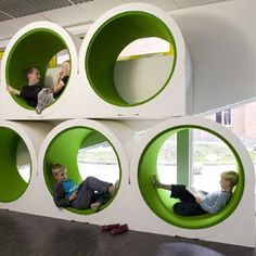 good church design: Circles for storage and space