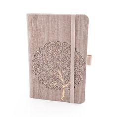 Herlitz Notebook Ivory Nature – Beige Tree, Graph (9 x 14)