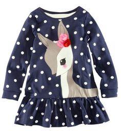 Cute Blue Dots Dress