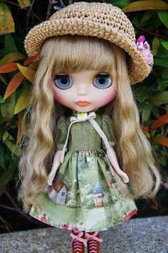 Blythe Babydoll Dress Outfit  Dreamy Country Girl   by ModAngelica, $28.00