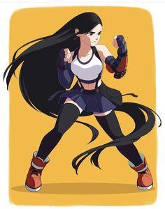 Character Design Challenge, Character Design Girl, Character Design Animation, Character Art, Challenge Instagram, Manga Anime, Animated Cartoon Characters, Tifa Lockhart, Final Fantasy Vii Remake