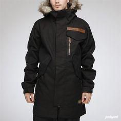 Analog Apocalypse snowboarding jacket.