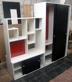 Monoambiente on pinterest room dividers division and - Muebles separador de ambientes ...
