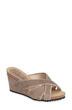 167bd9006f5 Women s Cordani  Avery  Suede Wedge Sandal