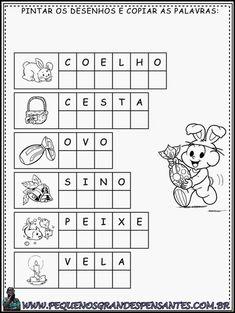 Atividade para a Páscoa - Educação Infantil