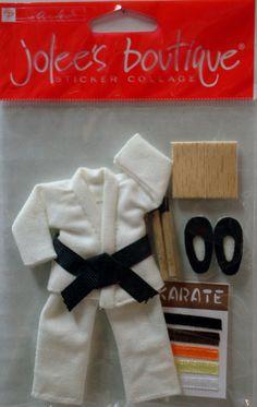 Taekwondo 3d stickers
