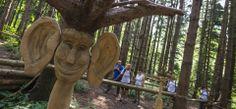 Exploratori della domenica a Canzo presso il parco Lo spirito del bosco