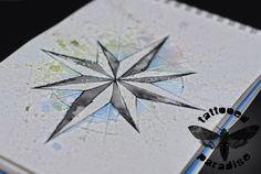 compass watercolor by dopeindulgence.deviantart.com on @deviantART