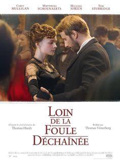 Loin de la foule déchaînée est un film de Thomas Vinterberg avec Carey Mulligan, Matthias Schoenaerts.