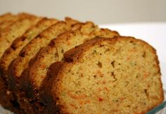 Whole Wheat Zucchini or Carrot Bread. Photo by buttercreambarbie  (You can use juicer pulp with this recipe, a major plus!)