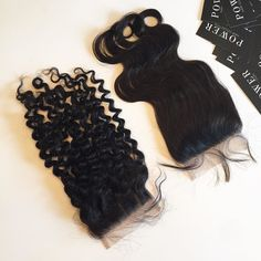 Lace closures protect your natural hair and because our closures are free part you have more styling versatility to change your looks! #PowerCurly #PowerWavy & #PowerStraight (not pictured) are all available online now!  Shop now at http://ift.tt/1MkYyNe  #PowerHairCollection #hair #hairextensions #curlyhair #longhair #wavyhair #straighthair #fashion #style #Clevelandhair #Detroithair #Atlantahair #Miamihair #LAhair #NewYorkhair #NYC #Londonhair #hairstylist #hairstyle #celebrityhair…