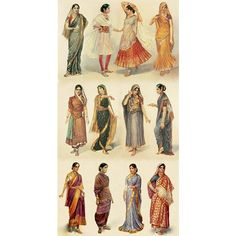 SCA / Traditional Indian garb - women via Polyvore