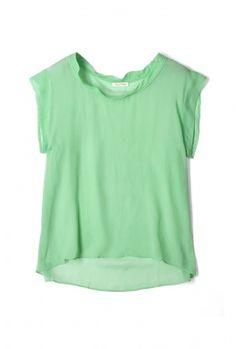 american vintage silk t-shirt #mint #fashion