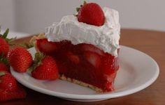 Ponchatoula Strawberry Pie recipe -- Ponchatoula, Louisiana is known for their Strawberry Festival (and wonderfully sweet berries)