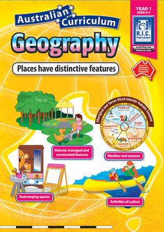 Australian Curriculum Geography Year 1: Places have distinctive features. Rearranging spaces, weather and seasons, activities of a place, natural, managed and constructed features.