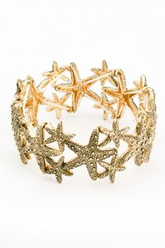 Treasured Starfish Bracelet...really cute clothes and accessories on this site