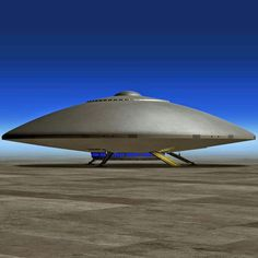 A UFO of unknown origin