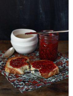 recipe for blackberry rose jam here...OMG Blackrose Jam.