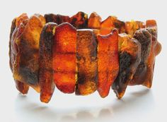 Natural Baltic Amber Bracelet by BalticAmberGiftShop on Etsy, $29.00