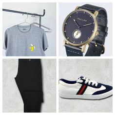 Fashion Helper 4U: PARA ÉL...CAMISETA GRIS BANANA & +suplementos