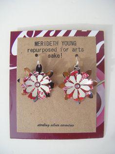 Cheerwine Earrings