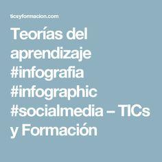 Teorías del aprendizaje #infografia #infographic #socialmedia – TICs y Formación