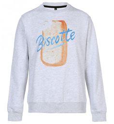 ATELIER AMELOT | Sweat shirt homme - imprimé Biscotte - ATELIER AMELOT 18.75€ | Le meilleur de la mode Homme et Femme. Sélection shopping