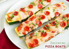 Pizza de Zucchinis