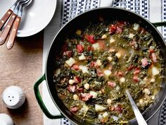 Get Portuguese Chourico and Kale Soup Recipe from Food Network