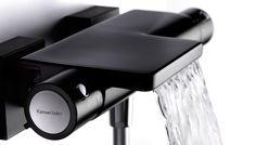 Mezclador termostático de baño-ducha Negro by Ramon Soler. Thermostatic bath-shower mixer Black by Ramon Soler