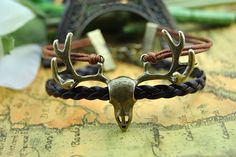 Bronze  Braceletelk Bracelet  Fashion by BeautifulShow on Etsy, $5.99