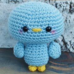 Create this Free Blue Bird crochet pattern. Blu The Bird is a fun and easy…