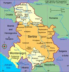 FREE MAP OF MONTENEGRO Dear Friends We Have A New Project In - Montenegro maps with countries