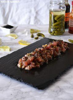Tartar de atún picante http://www.sweetaddict.es/2016/09/tartar-de-atun-picante.html