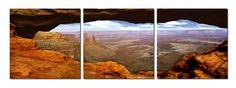 Grand Canyon - Triptych Art - Diptych Art - Triptych Art Boston
