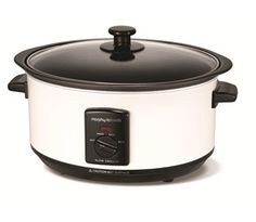 Morphy Richards white slow cooker