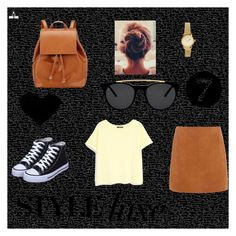 """Casula Brown"" by intanrpratiwi on Polyvore featuring Barneys New York, H&M, MANGO, Smoke & Mirrors and Dorothy Perkins"