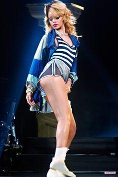 Rihanna concert photos in Gdynia Poland