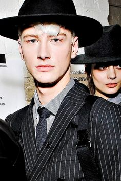 Benjamin Jarvis | Kenneth Cole FW14 NYFW Backstage, ph. Ernie Green